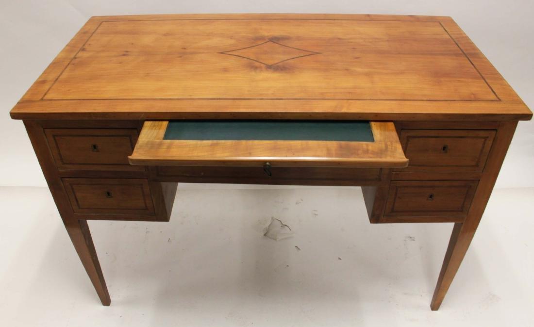 MCM Italian Inlay Top & Fruitwood Writing Desk