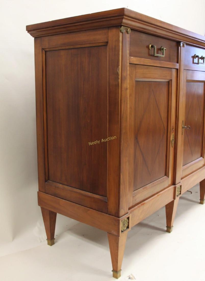 Italian Sideboard / Buffet w 4- Drawers & Doors - 2