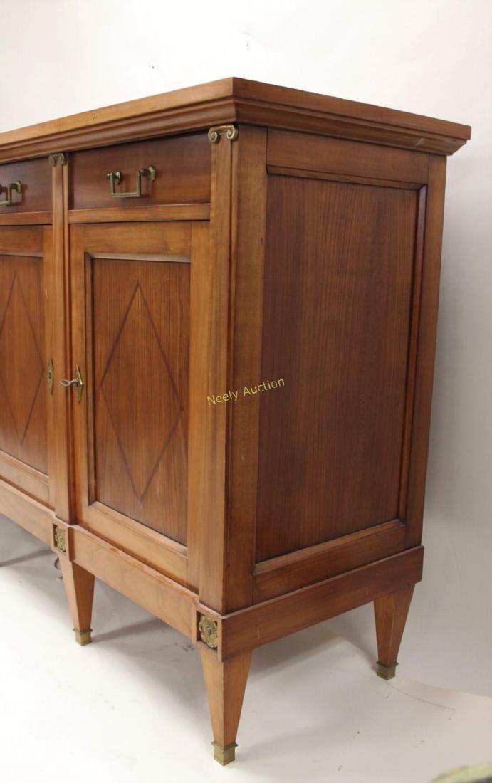 Italian Sideboard / Buffet w 4- Drawers & Doors - 3