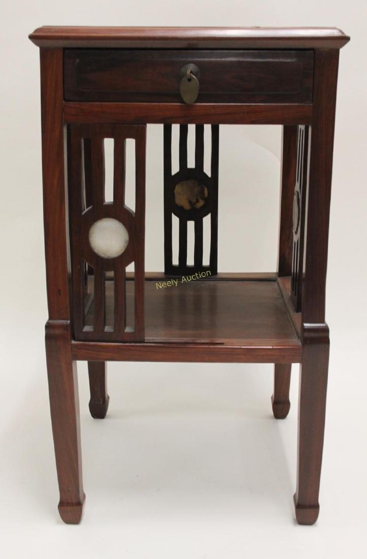 Arts & Crafts Oriental Teak Occasional Table - 5