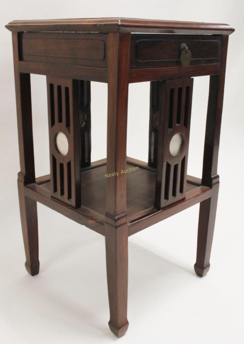 Arts & Crafts Oriental Teak Occasional Table - 6