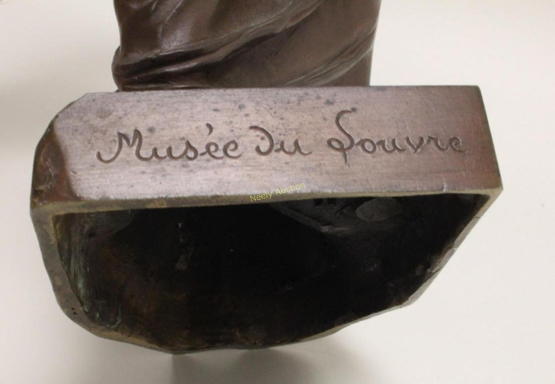 19c Musee de Louvre Bronze Sculpture Venus de Milo - 10