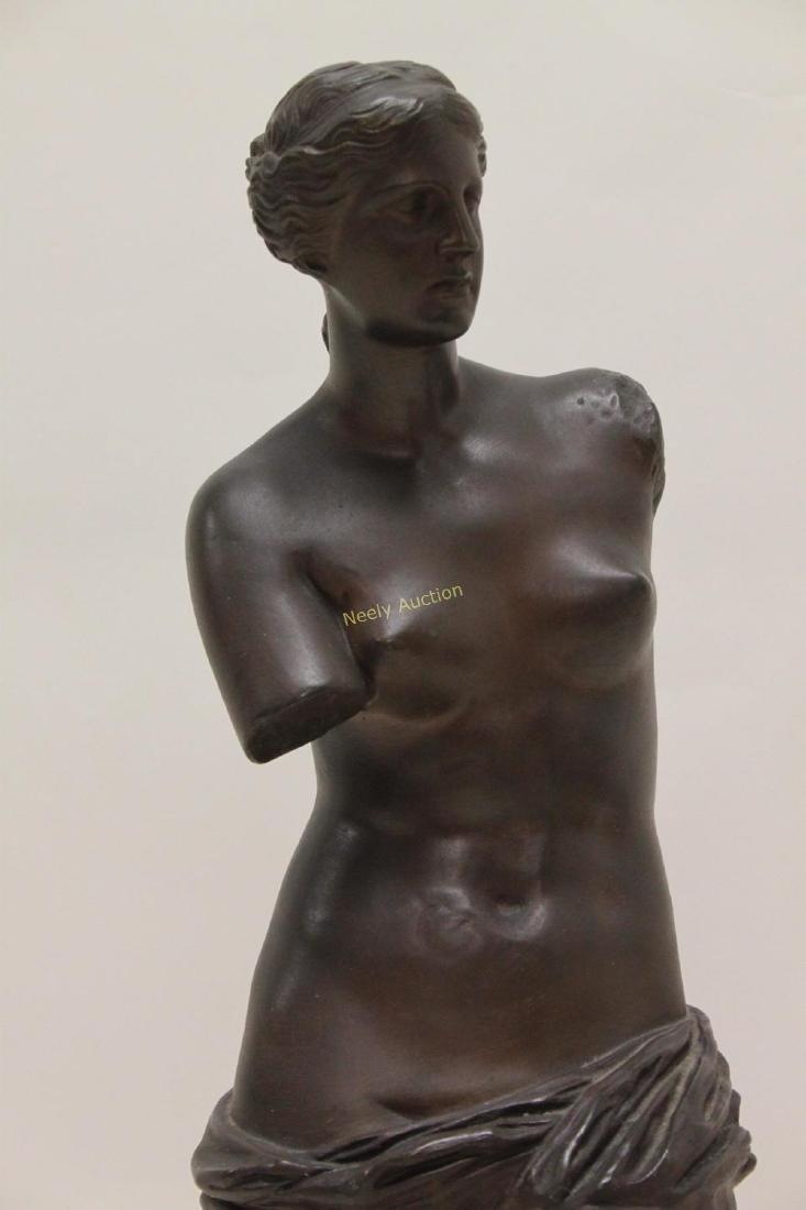 19c Musee de Louvre Bronze Sculpture Venus de Milo - 3