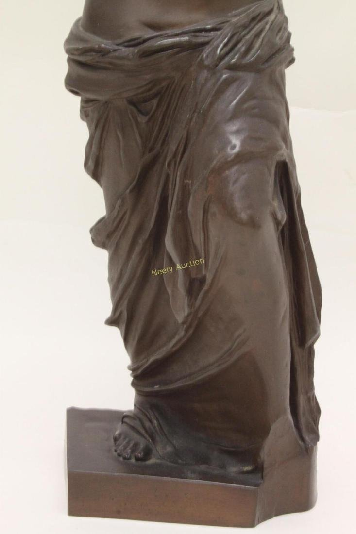 19c Musee de Louvre Bronze Sculpture Venus de Milo - 5