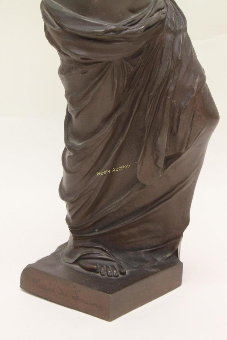 19c Musee de Louvre Bronze Sculpture Venus de Milo - 7