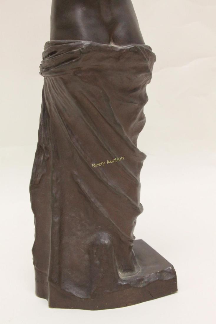 19c Musee de Louvre Bronze Sculpture Venus de Milo - 9