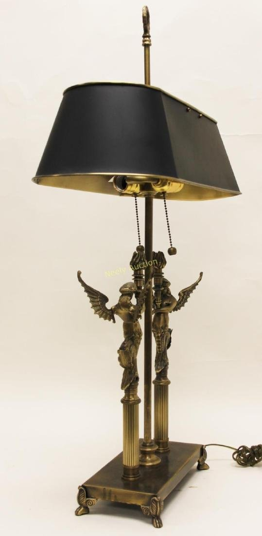 Pair Oriental Accent Inc. French Empire Desk Lamps - 5