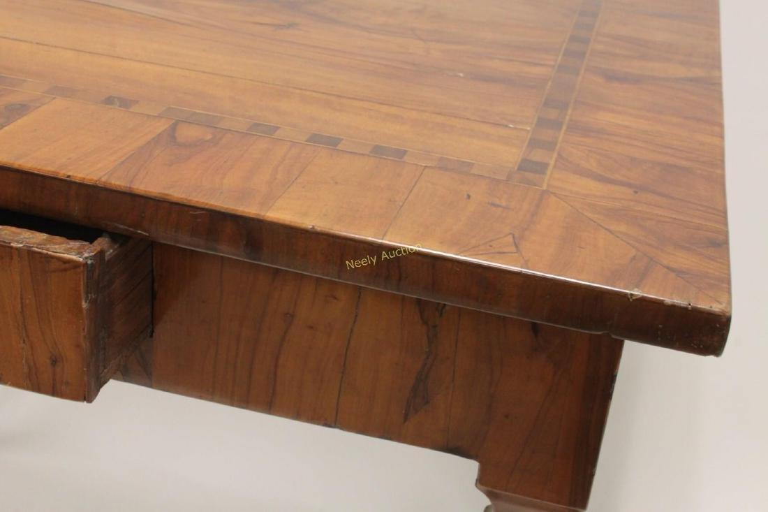 Antique Italian Inlaid Satinwood Game Table - 5