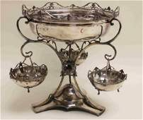 1909 Williams Ltd English Sterling Silver Epergne