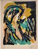 Karel Appel (Dutch, 1921-2006) signed Lithograph