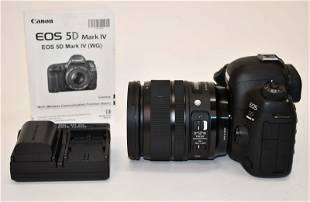 Canon Mark IV 5D Camera & Lens