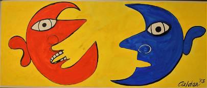 "Alexander Calder (1898-1976) ""Moon Conversation"""