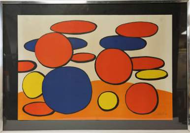 "Alexander Calder (1898-1976) ""Man Hole Cover"""