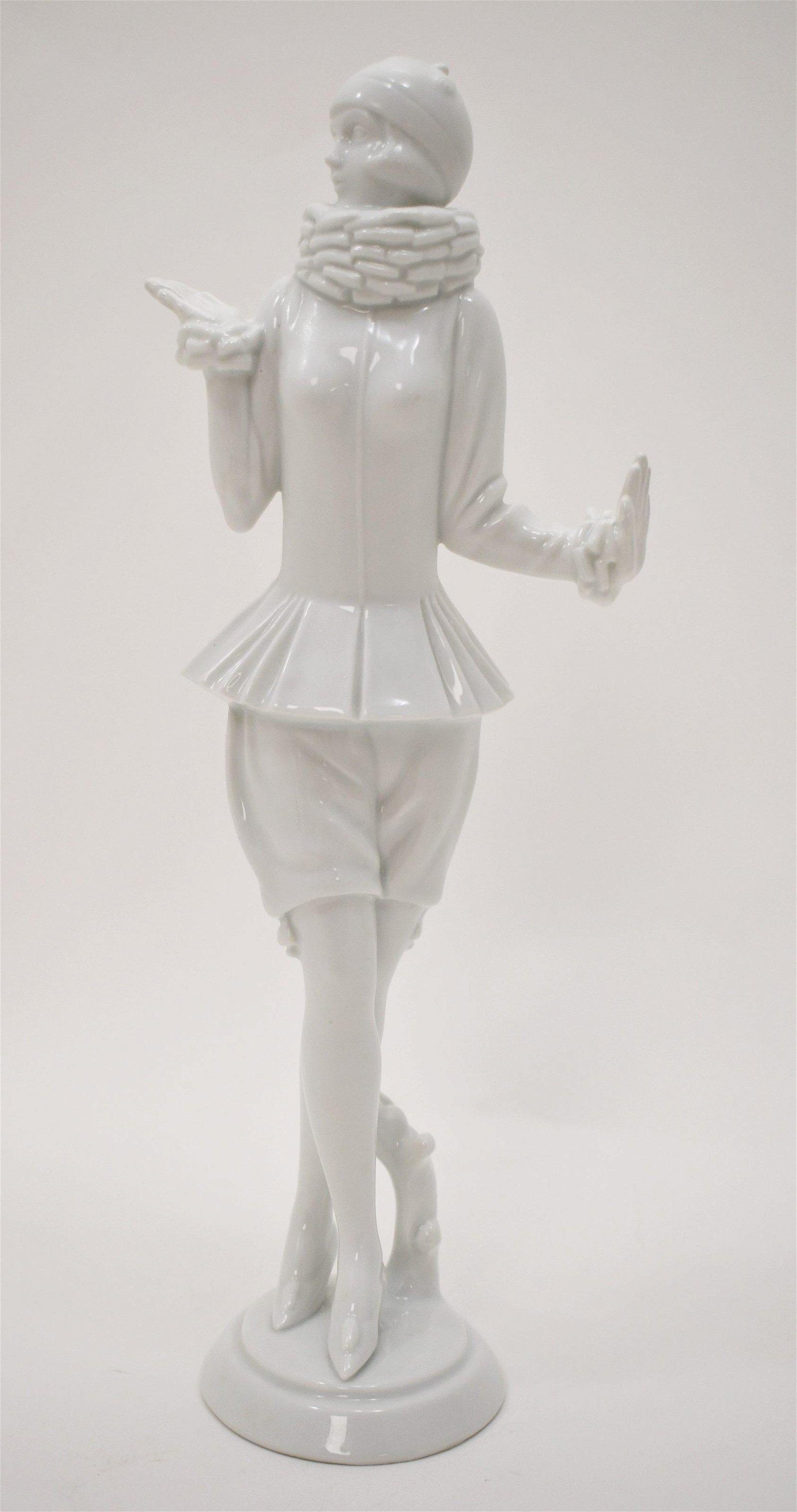 Art Deco Rosenthal Porcelain Dancer Female Figure