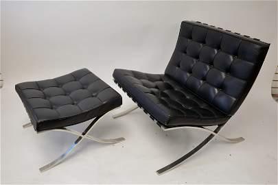 Knoll International Van der Rohe Chair & Ottoman