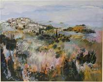 Monique Journod French Country Lanscape Painting