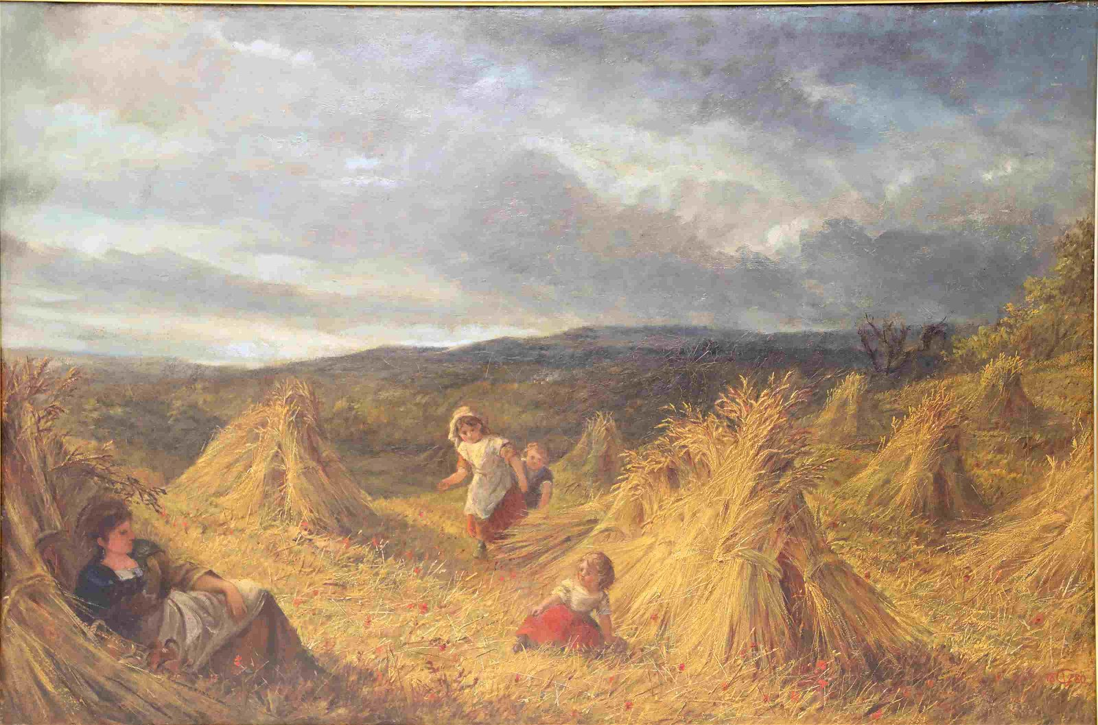 George Vicat Cole (British 1833-1893) Oil Painting