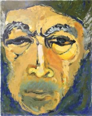 "Anthony Quinn (1915-2001) ""Zorba"" signed Litho"