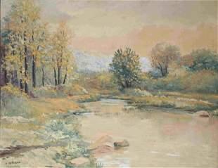 Nicholas Morosoff (Russian, 1899-1994) Painting
