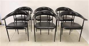 (6) Italian Dining Chairs by Gordon International