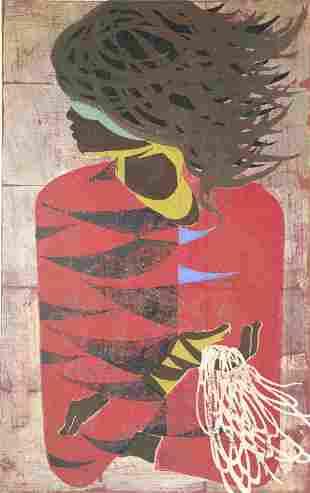 Nakayama, Tadashi (Japanese, 1927-2014) Woodblock