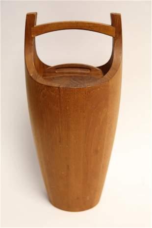 Dansk Designs Danish Modern Teak Ice Bucket