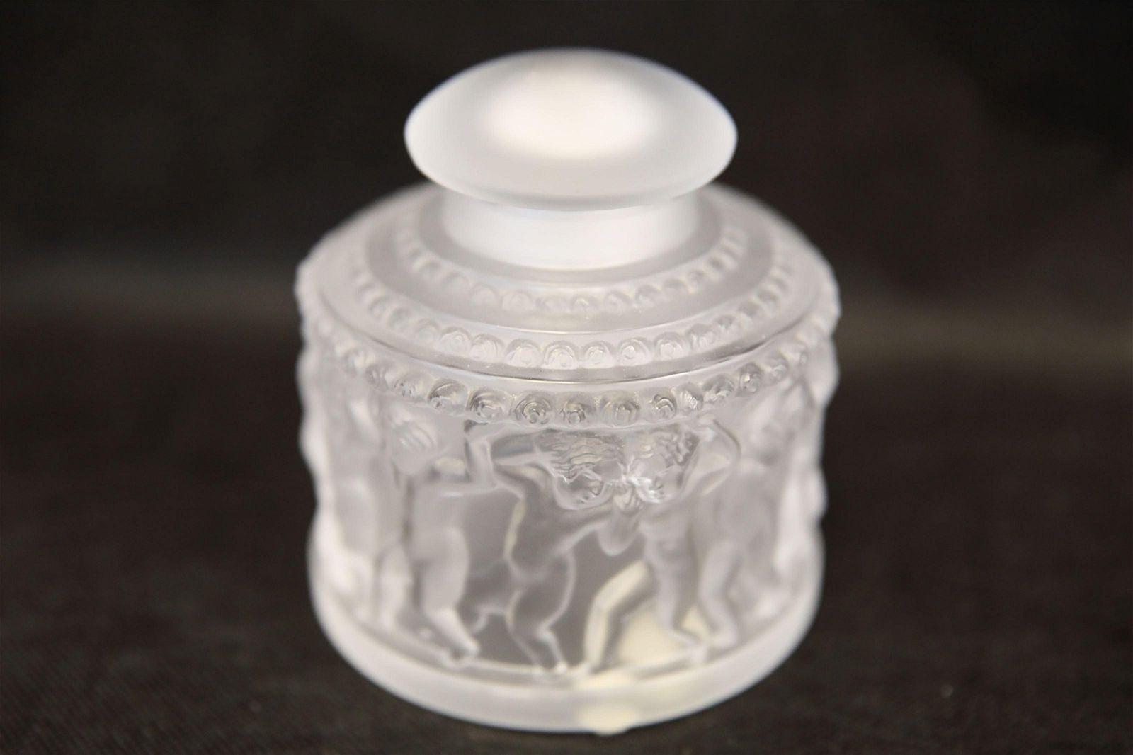 "Lalique France ""Enfants"" Perfume Bottle"