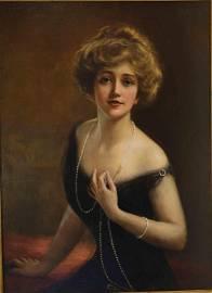 William Haskell Coffin (Am 1878-1941) Portrait