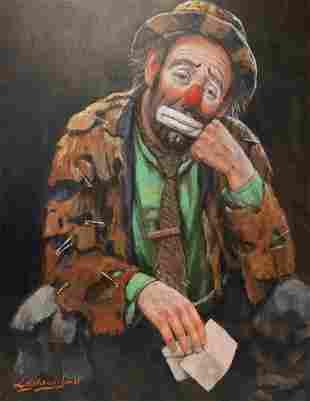 Barry Leighton Jones (1932 - 2011) Oil Painting