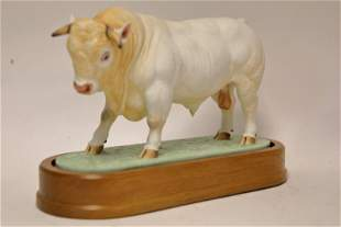 Royal Worcester Charolais Bull ca 1968