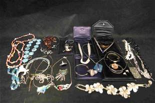 Large Lot of Sterling Silver & Designer Jewelry