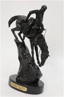 Frederick Remington Mountain Man Bronze Sculpture