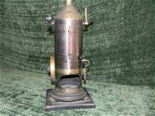 46 19th century scale model of a steam engine