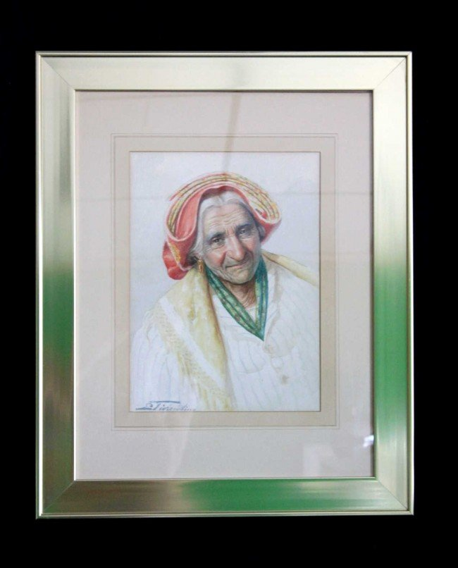 139: E. Tiorentino Watercolor on paper