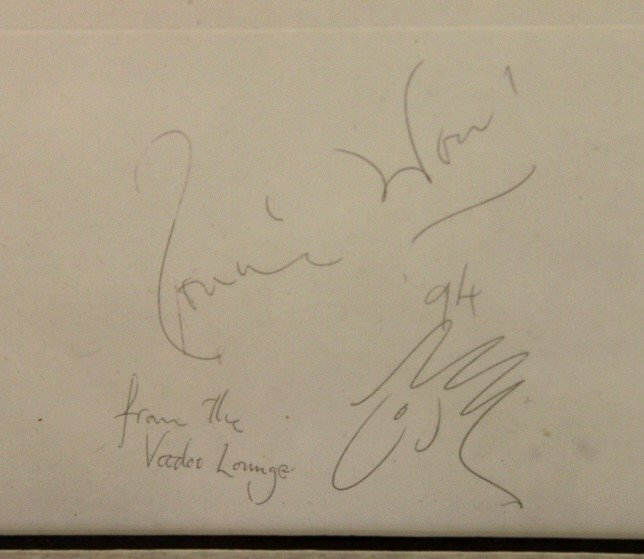 172: Autographed Rolling Stones Collection Lithograph - 4