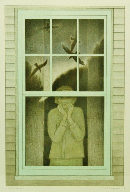 "1: Will Barnet Lithograph ""The Dream"""