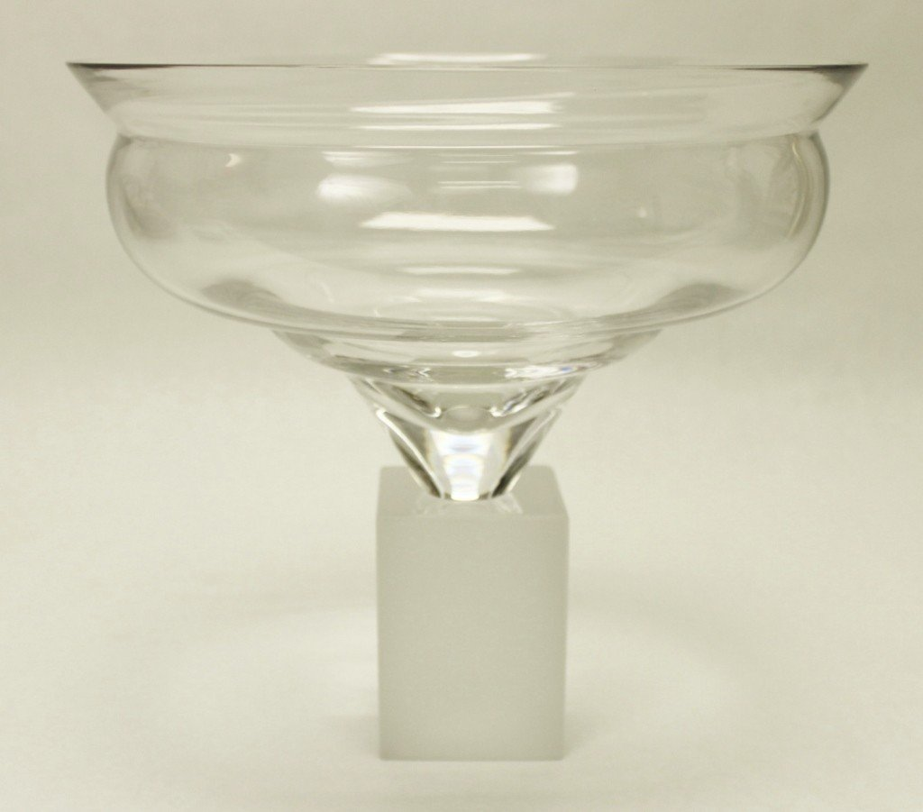 14: Art Glass Pedestal Bowl
