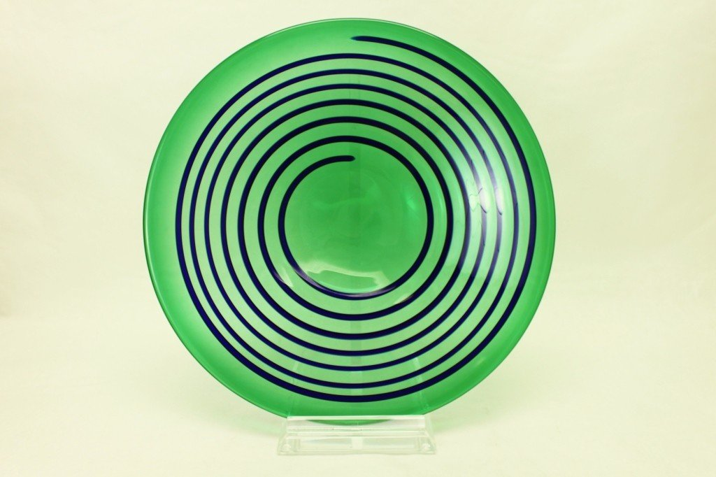 15: Marcello Fueber Art Glass Platter