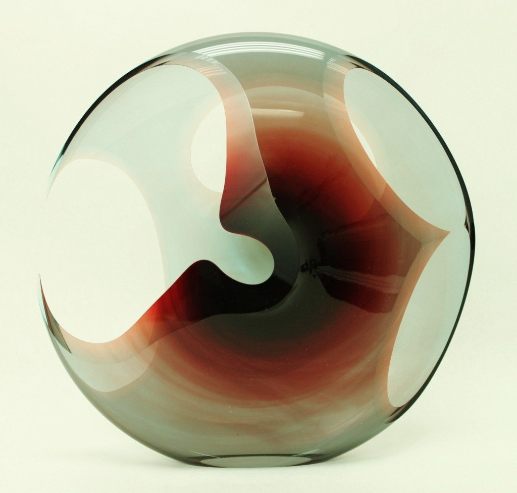 20: Peter Vanderlaan Glass Art Sculpture