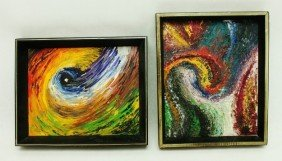 Pair Of Hary Schell Oil On Board Paintings