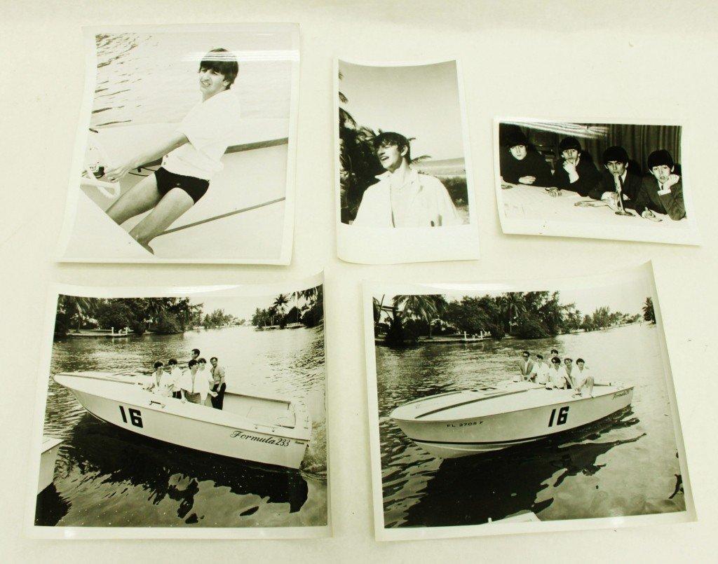 135: Original Beatles Photographs, 1964 Tour Miami, FL.
