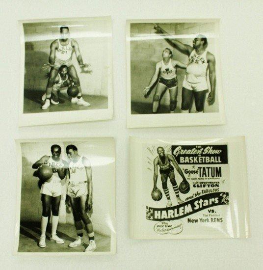 137: Original Harlem Stars Basketball Photographs
