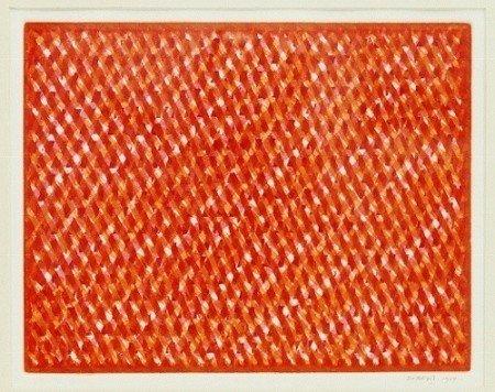 141: Piero Dorazio Aquaprint