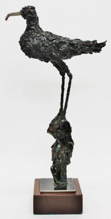 24: Mike Bucha Signed Bronze Bird Sculpture