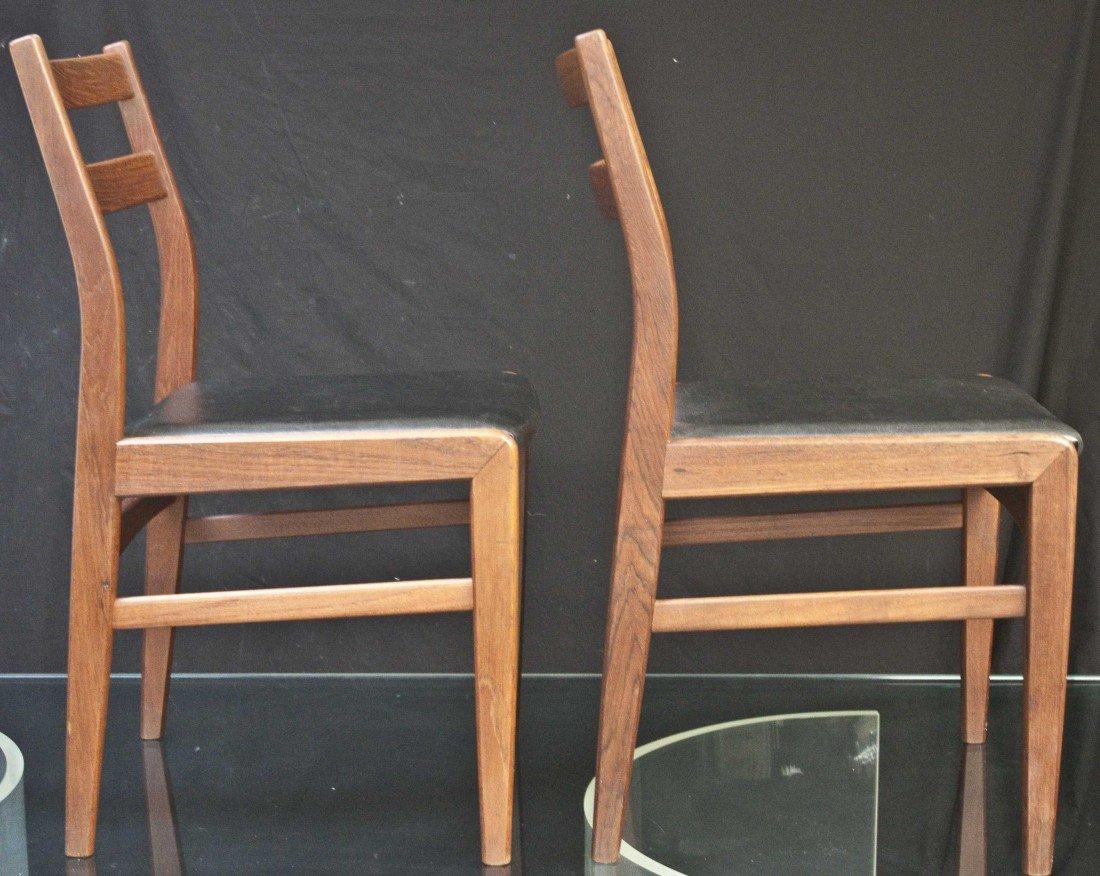 39: Pair Of Ulferts Swedish Teak Chairs