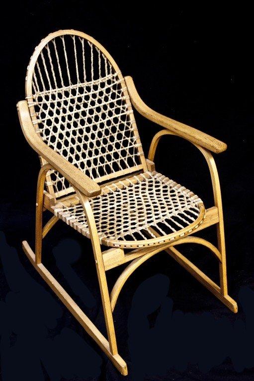 46: Wisconsin Ice Fishing Snowshoe Chair