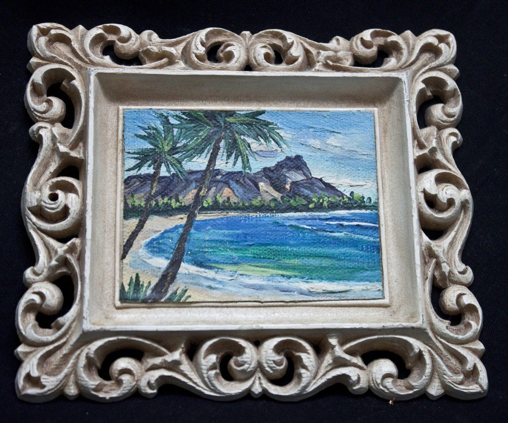 60: Original Oil Painting By Marie Ware