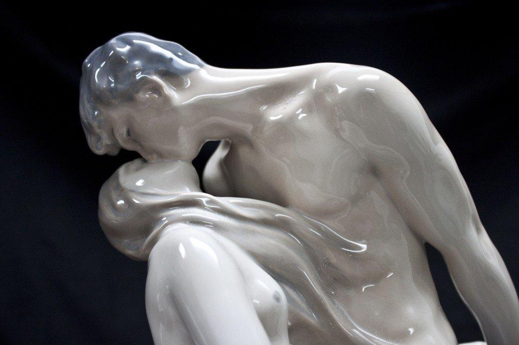83: Royal Copenhagen Figure Of A Man And Woman