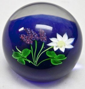 5: Finely Formed Rare Scottish Art Glass Paperweight