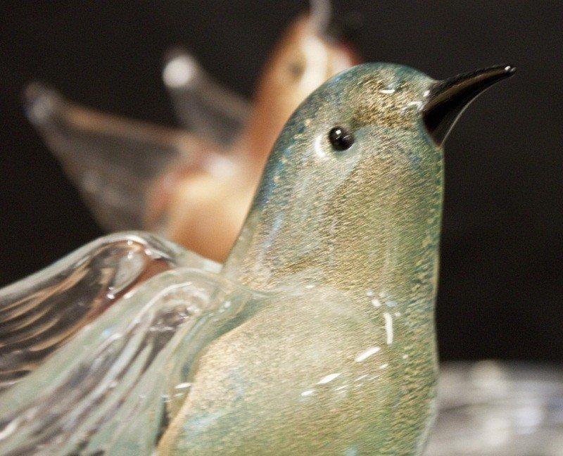 10: Murano Birds Nest Bowl - 2
